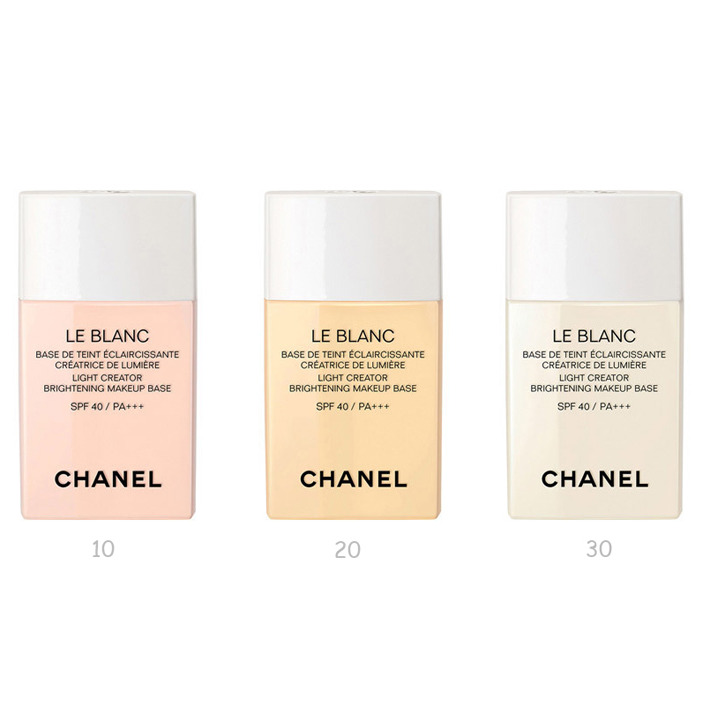 Chanel Le Blanc Light Creator BrigLe Blanc Light Creator Brightening Makeup Base SPF 40htening Makeup Base SPF 40