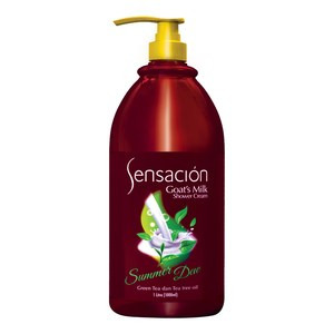 Sensacion Goat's Milk Shower Cream Summer Dew