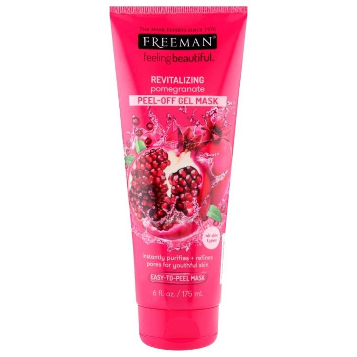 Freeman Beauty REVITALIZING pomegranate PEEL-OFF GEL MASK