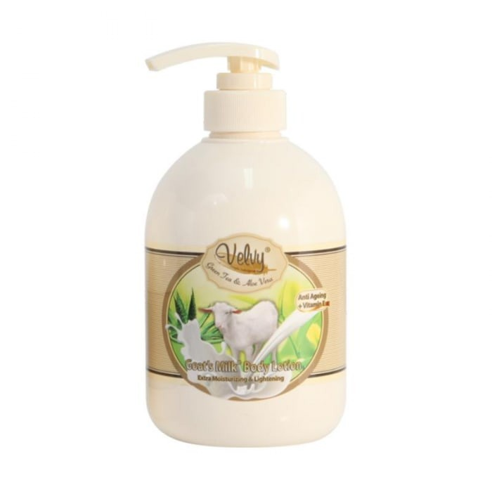 Velvy Goat's Milk Body Lotion Green Tea & Aloe Vera