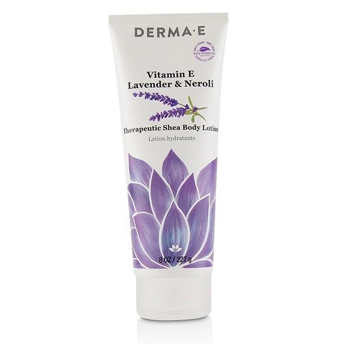 Derma E Vitamin E Lavender-Neroli Therapeutic Shea Body Lotion