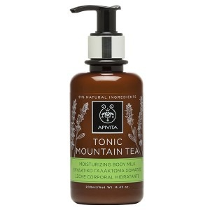 Apivita TONIC MOUNTAIN TEA Moisturizing Body Milk