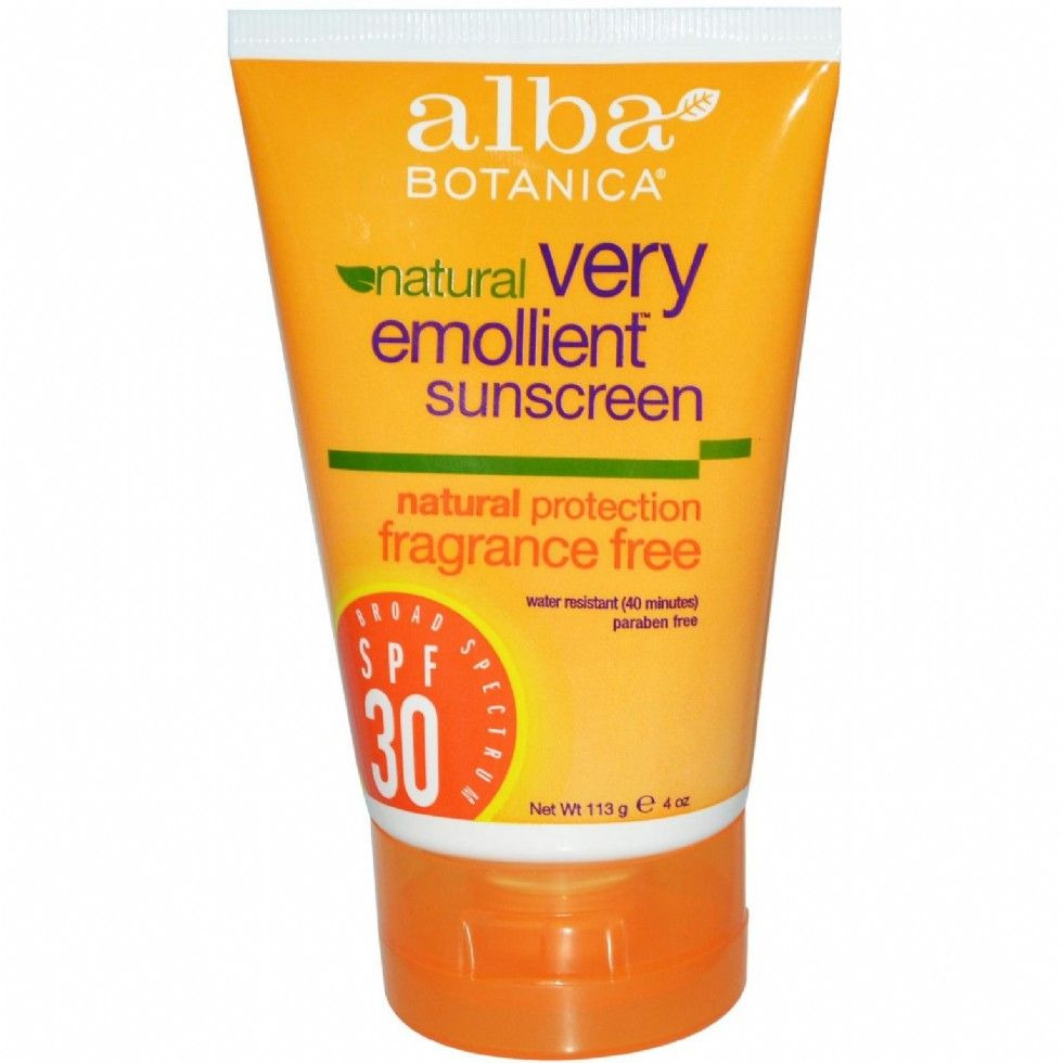 Very Emollient Sunscreen Fragrance Free Lotion SPF 30