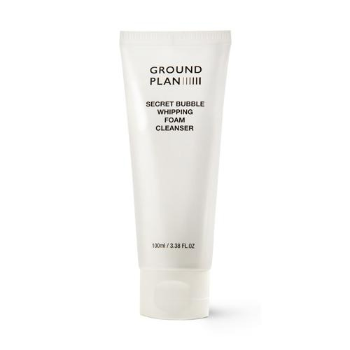 Ground Plan SECRET BUBBLE WHIPPING FOAM CLEANSER