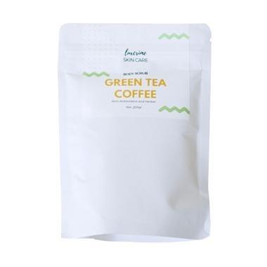 Luxcrime Green Tea Coffee Scrub