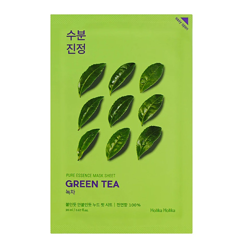 Holika Holika Pure Essence Mask Greentea