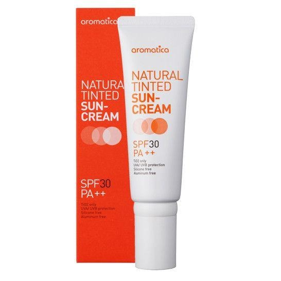 aromatica NATURAL TINTED SUN-CREAM