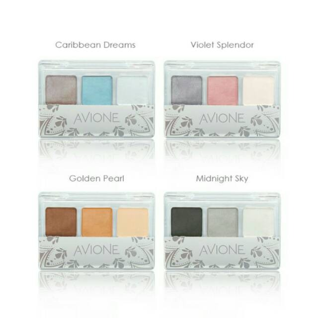 Avione Eyeshadow Trio Splendor