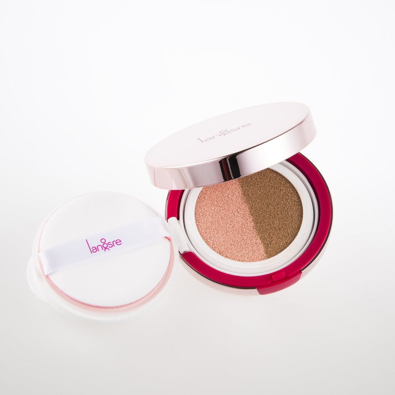 Langsre Very Berry Dual BB Cushion