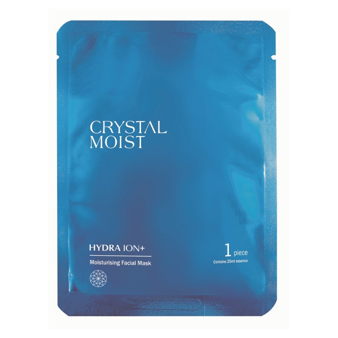 Crystal Moist HYDRA ION+ Moisturising Facial Mask