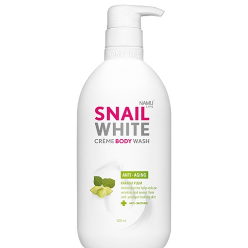 Namu Life Snailwhite CREME BODY WASH ANTI-AGING