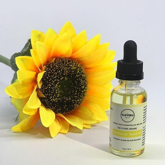 Kleveru Sunflower Seed Face Oil