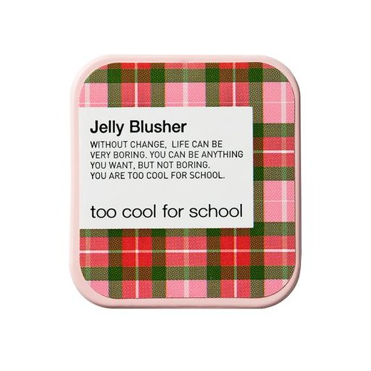 Too Cool For School Check Jelly Blusher #3 Peach Nectar