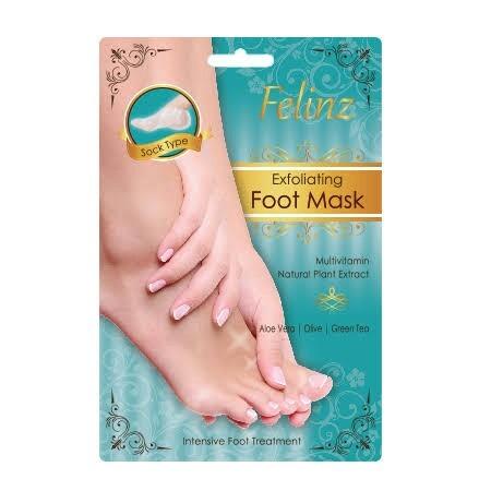 Felinz Exfoliating Foot Mask