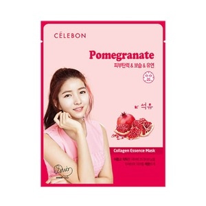 Celebon Collagen Essence Mask Pomegranate