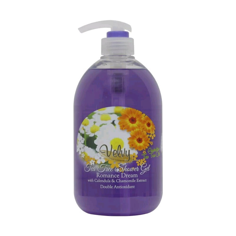 Velvy Tea Tree Oil Shower Gel Calendula & Chamomile (Romance Dream)