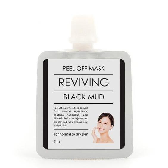 BrunBrun Paris Peel Off Mask Reviving Black Mud
