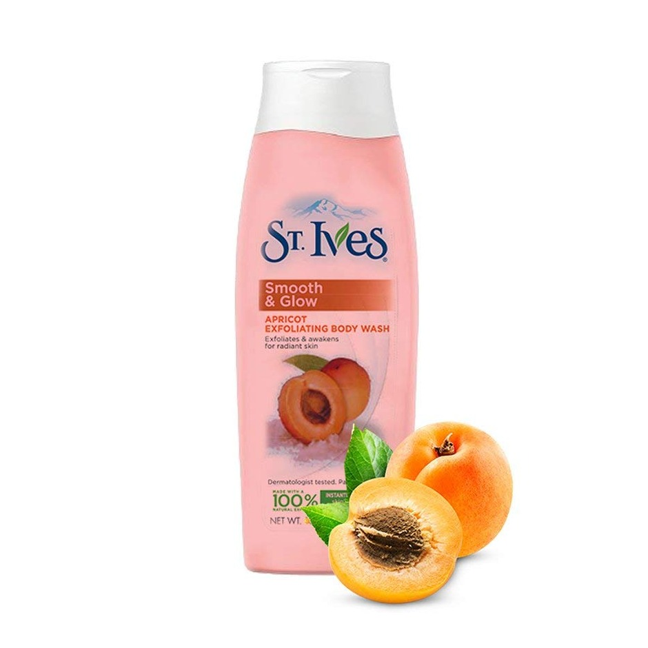 St.Ives Smooth & Glow Apricot Exfoliating Body Wash