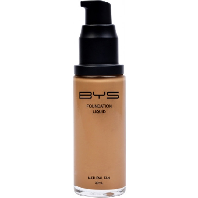 BYS Foundations Liquid Pump Bottle Natural Tan