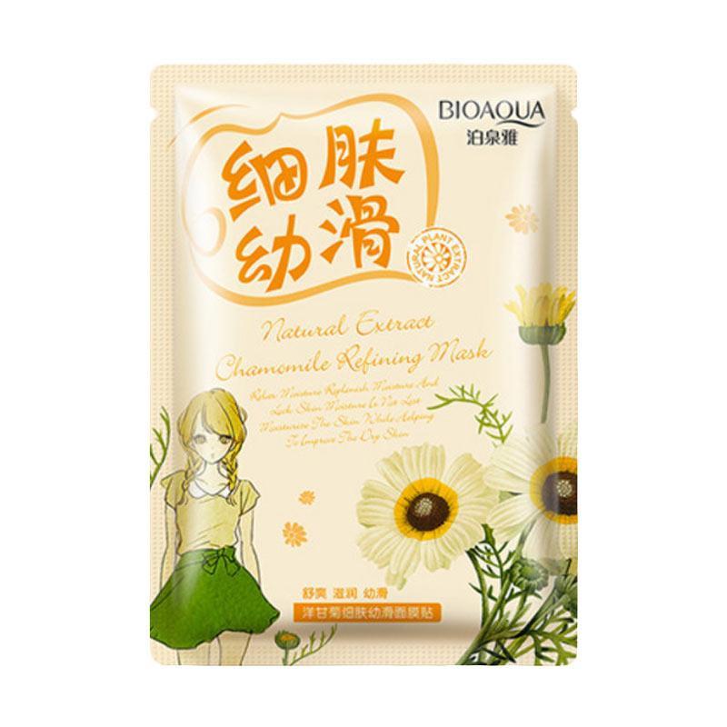 Bioaqua Natural Extract Mask - Chamomile