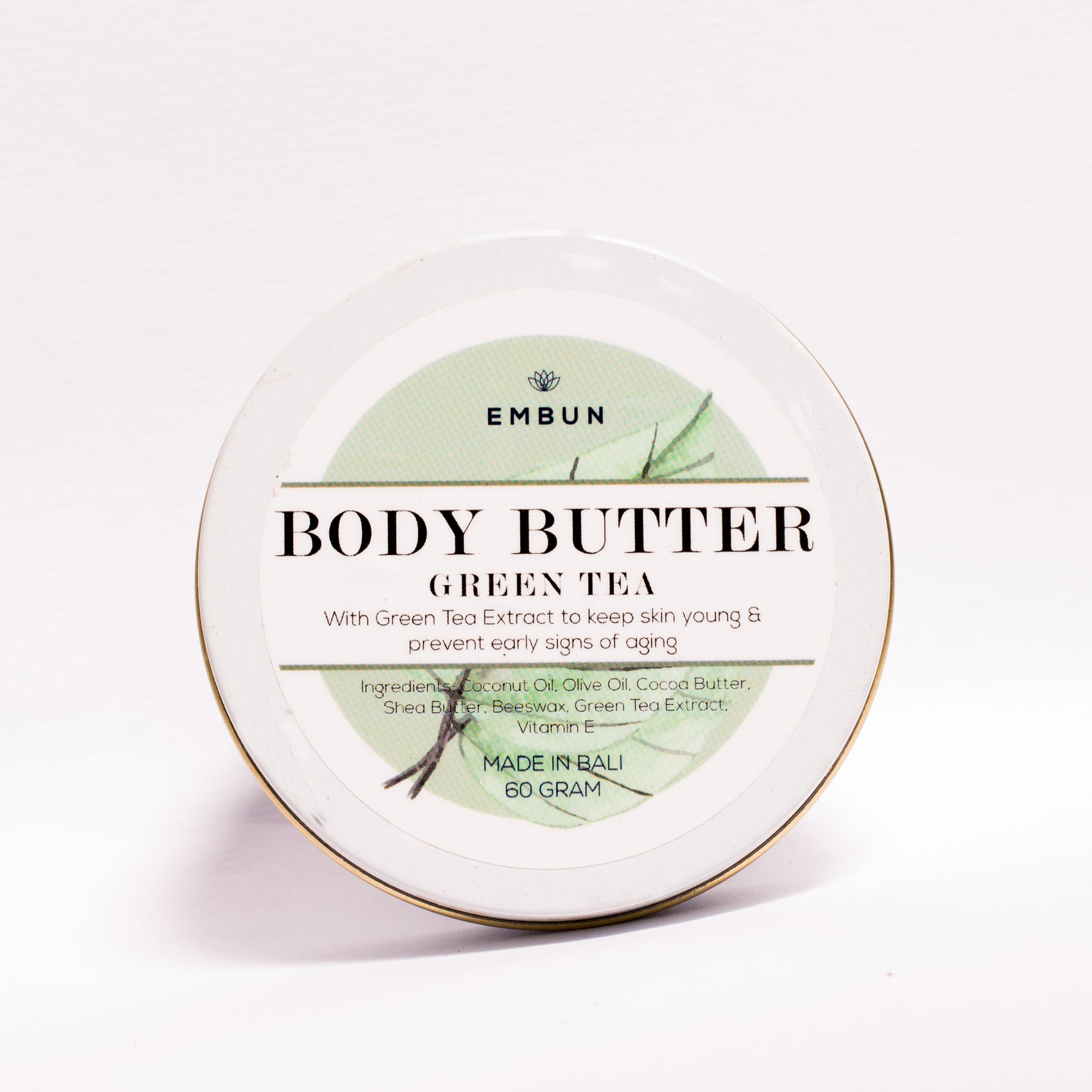 Embun Body Butter Anti-aging Green Tea