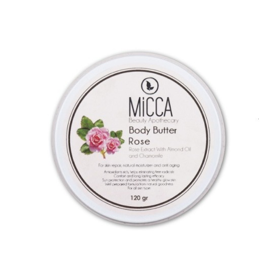 Micca Beauty BODY BUTTER ROSE