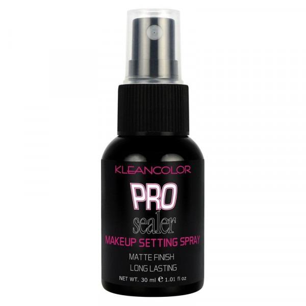 klean colour Pro Sealer Makeup Setting Spray - Matte Finish