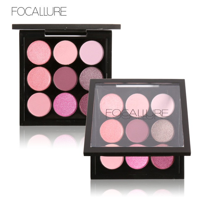 FOCALLURE 9 Colors Makeup Eyeshadow Palette