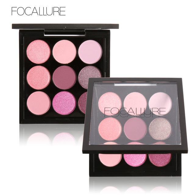 FOCALLURE 9 Colors Makeup Eyeshadow Palette