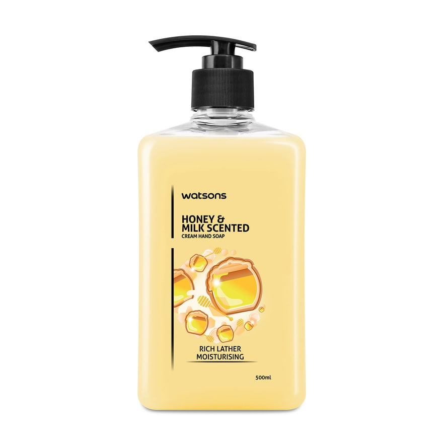Watson Cream Hand Honey & Milk Scented