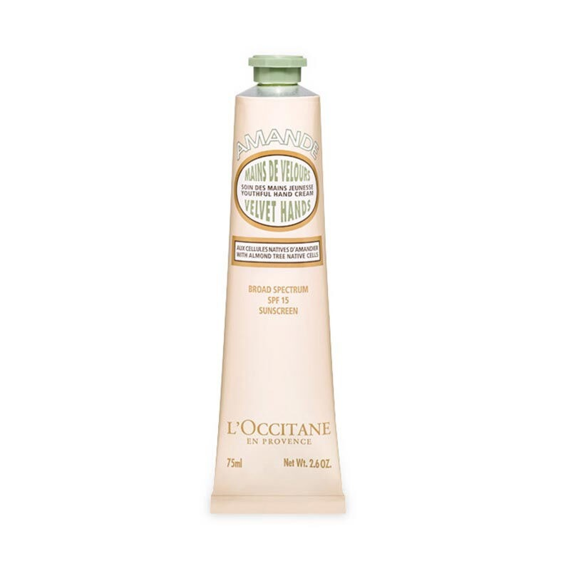 L'Occitane Almond Velvet Hands SPF 15