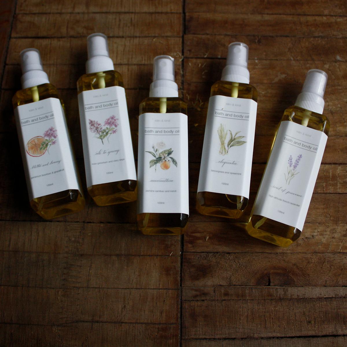 klēn and kind Amaranthine Body Oil