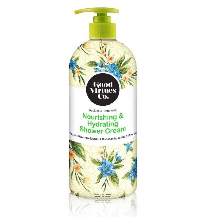 Good Virtues Co. Nourishing & Hydrating Shower Cream
