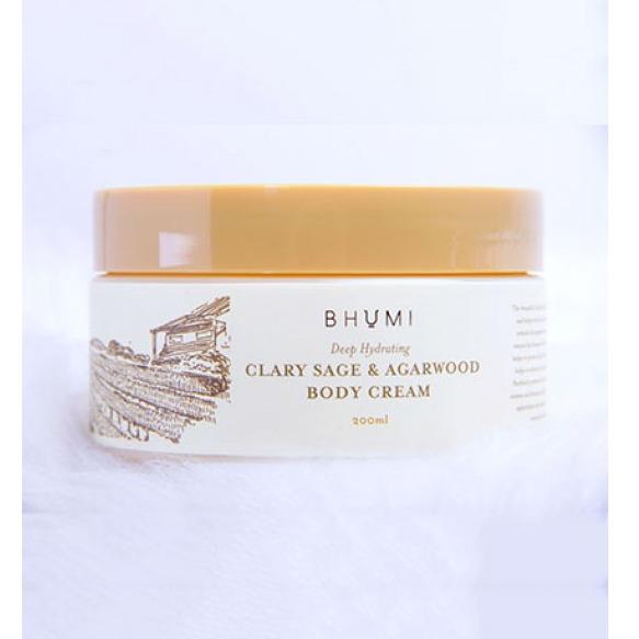 Bhumi Clary Sage & Agarwood Body Cream