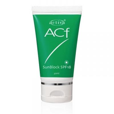 Activa ACF Sunblock (SPF 18)