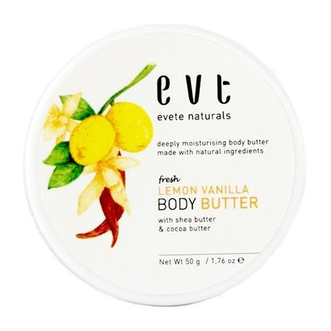 Evete Naturals Fresh Lemon Vanilla Body Butter