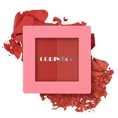 CORINGCO Pink Square Dual Cheek