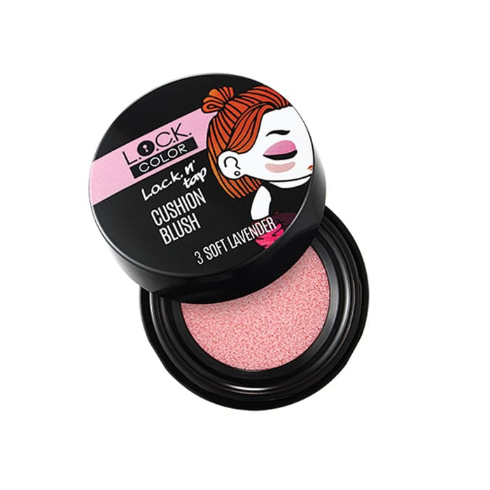 L.O.C.K. Color L.O.C.K. n' TAP CUSHION BLUSH SOFT LAVENDER