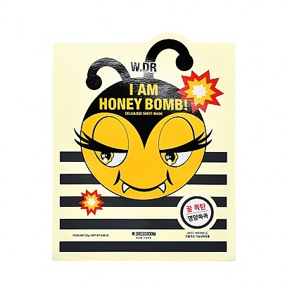 W.Dressroom I am Honey Bomb! Cellulose Sheet Mask