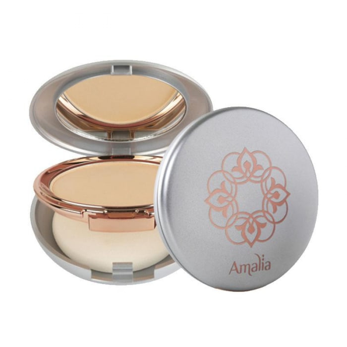Amalia Cosmetics Two Way Cake Light Beige Powder