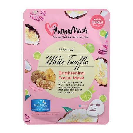 Happy Mask Premium White Truffle Facial Mask (Brightening)