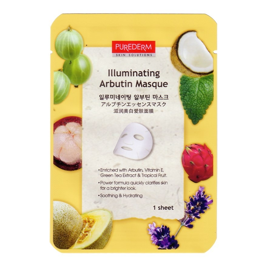 Purederm Illuminating Arbutin Masque
