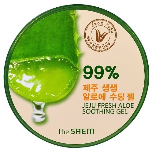the saem 99% Jeju Fresh Aloe Soothing Gel
