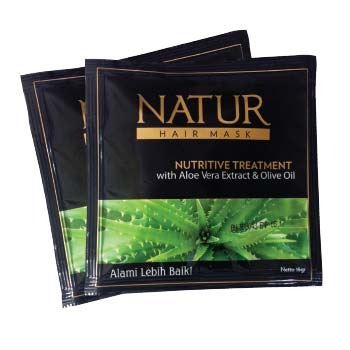 Natur Aloe Vera Extract & Olive Oil Hair Mask