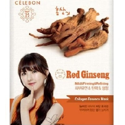 Celebon Collagen Essence Mask Red Ginseng