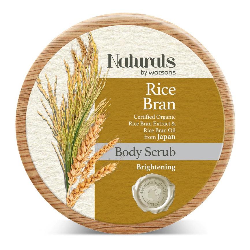Naturals by Watsons Rice Bran Body Scrub