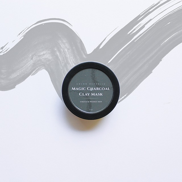 Color Repvblic Magic Charcoal Clay Mask - for Stretch and Wrinkle Skin