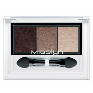 Misslyn High Shine Trio Eyeshadow 80