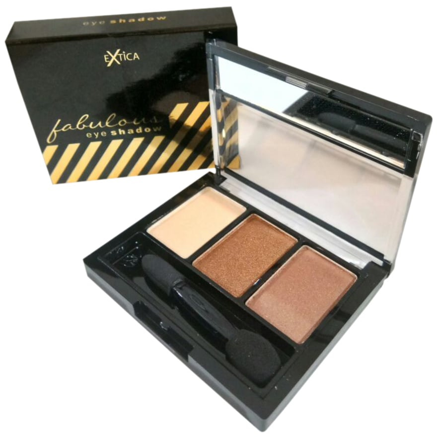Extica Fabulous Eye Shadow #002 Choco Cream