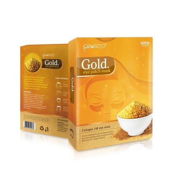 Qiansoto Eye Patch Mask Gold